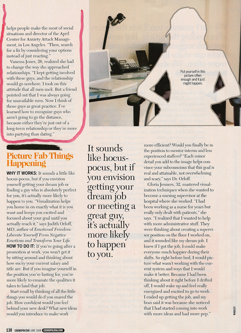 Cosmo article page 2